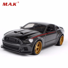 2014 Mustang Street Racer Modified Alloy Vehicles Cars 1:24th Scale Models Car Model Toy Collection Decoration(China)
