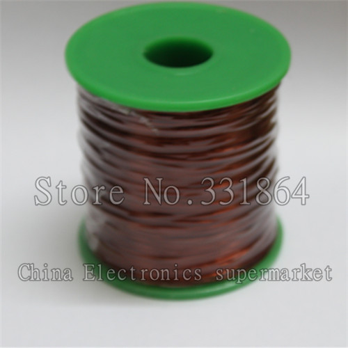 0.51mm  Free Shipping 220m enameled wire QZ-2-130 new polyurethane enamelled round copper winding wire High-temperature wire<br>