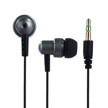 3.5mm Stereo In-ear Earbuds Earphone Heavy Bass Sound Quality Music Earpiece without Mic for MP3 MP4 Player Phones 5 Colors