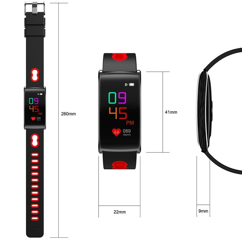2018 Latest Sport Smart Band N68 Heart Rate HR Tracker Smart Bracelet Blood Pressure Detection Smart Device Wristband unisex<br>