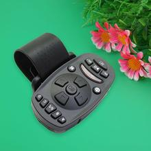 New 1pcs Universal Steering Wheel IR Remote Control for Car DVD CD MP3 16 keys High-capacity memory