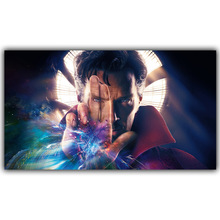 Doctor Strange Marvel Comics DC Comics Superheroes Poster For Home Decoration Silk Canvas Fabric Print Poster DY1071