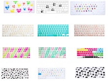 HRH Fashion Pattern Silicone Keyboard Cover Keypad Skin Protector For Apple Mac Macbook Pro 13 15 17 Air 13 Retina 13 US layout