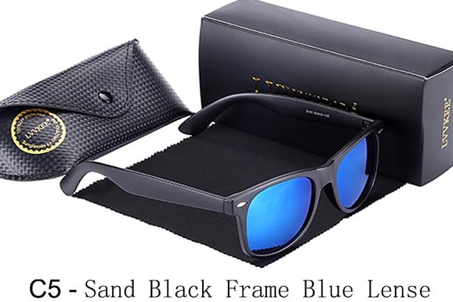 C5-Sand Black Frame Blue Lense