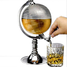 Mini water drink beer dispenser bar decoration Creative mini globe water dispenser personality beer drinking machine home decor(China)