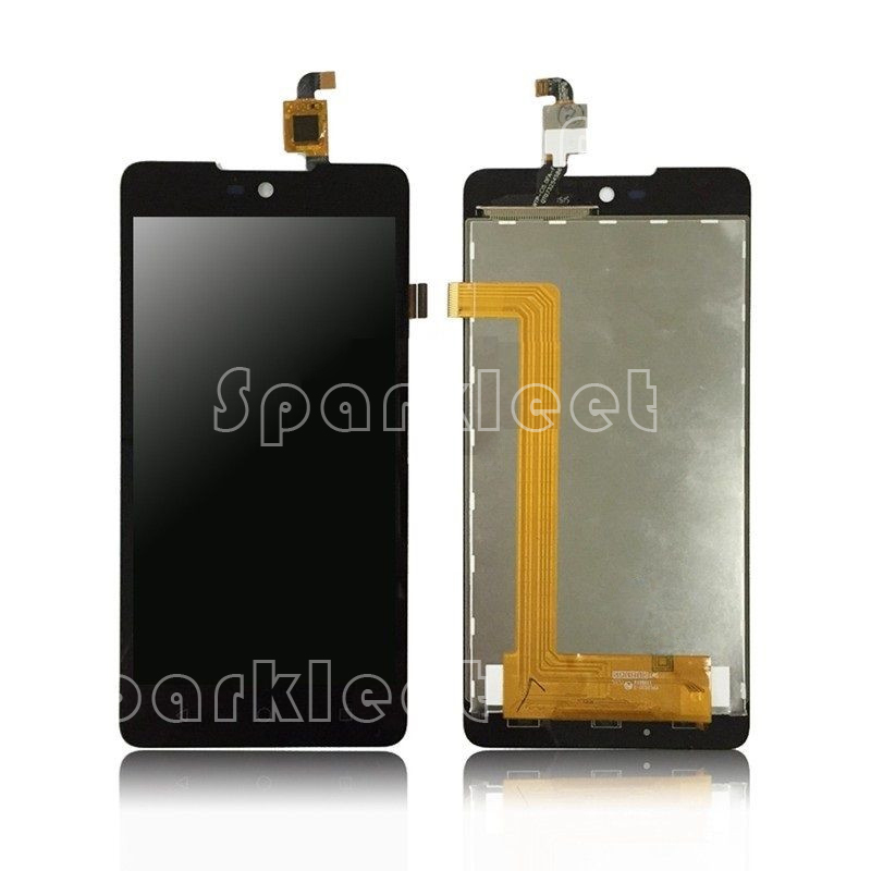 High Quality LCDs For Wiko Rainbow Lite 4G LCD Display+Touch Screen Digitizer Assembly Replacement Black, Free Shipping<br><br>Aliexpress