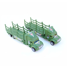 Army Green World War II military truck tractors military sand table model scene 1pcs/set Holiday gifts Free shipping