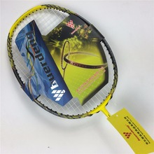 VOLTAIC VT ZF II badminton racket 4U carbon with badminton string and racket grip VOLTRIC Z FORCE II Badminton rackets racquet