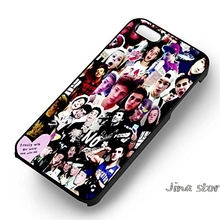 Boys Collage Lyrics Cellphone Case Cover for iphone 5s SE 6 6s 6plus 7 7plus Samsung galaxy s5 s6 s7 s7edge note7