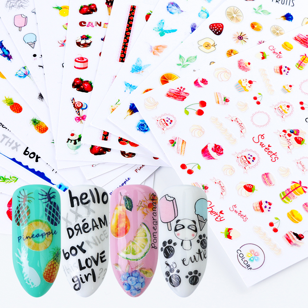 nail adhesive sticker