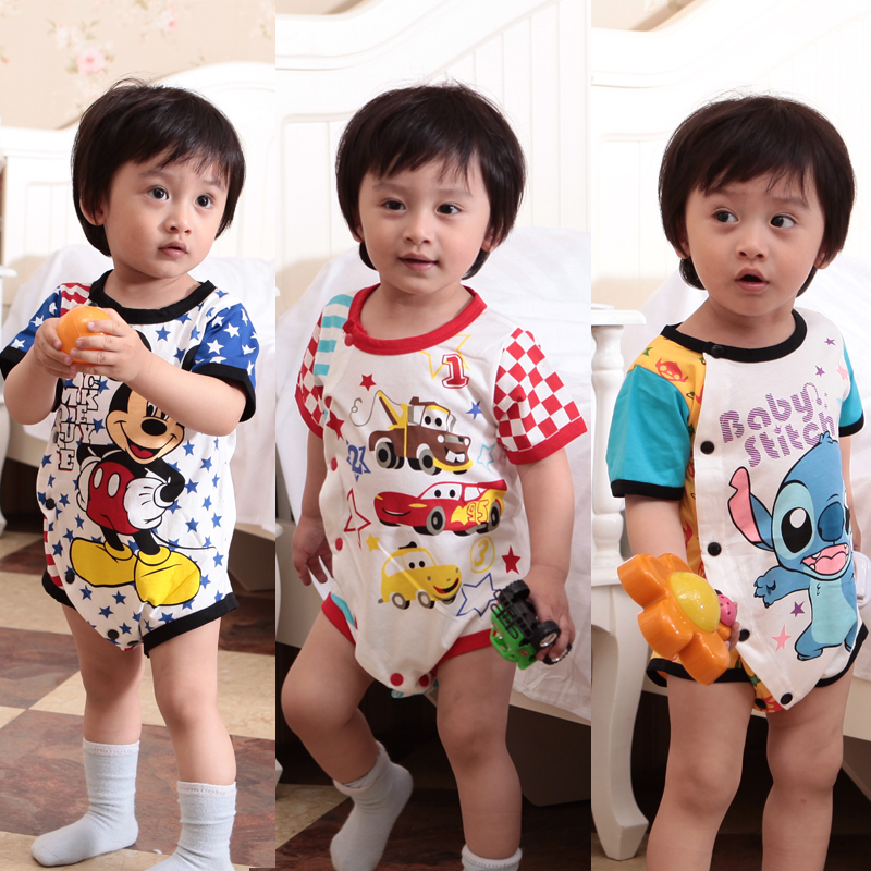 Baby Boy Clothes Summer 0 3 Months Old 4 Infant Romper Flower Dress Kids S In Clothing Sets From Mother