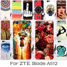 Back Cover Case For ZTE Blade A512 A506 Z10 5.2 inch Plastic Or SOFT Silicone Cell Phone Case Housing Bag Shell Hood ZTE A512