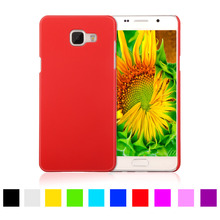 Matte Rubberized Hard Plastic Case For Samsung Galaxy A5 2016 A510 A510F 5.2 inch Back Cover Mobile Phone Protective Case Shell(China)