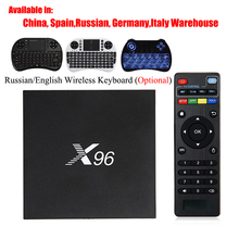 X96 Android 6.0 TV Box Amlogic S905X Max 2GB RAM+16GB ROM Quad Core WIFI HDMI 4K*2K HD Smart Set Top BOX Media Player PK A95X