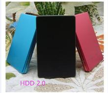 "The New 2017 Hard disk 2 TB hdd 2.5 ""2.0 Portable USB Hard Drive HDD 1TB Black External Hard drives 3 Year giant free shipping"