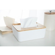 NAIYUE Paper Rack Elegant Royal Home Wooden cover Tissue Box Rectangular Container Towel Napkin Tissue holder