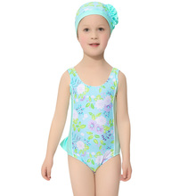 Girls One-piece Swimsuit New Children's Girl's Baby Cute Bathing Dress Suit Can - FUTURE FLOWERS Store store