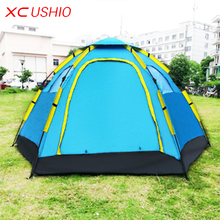 Outdoor Fishing Automatic Tent Camping Garden Picnic Set Hunting Roof Tent Tabernacle Beach Windbreak Fiberglass Pole