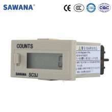 lcd counter with power no voltage SC3J8 timer 8 digit counter 0-99999999 counts DIN 48*24