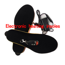 Remote Control heating insoles winter Thick plush insole insert Shoes pad With battery EUR Men's Women's Size Foam Material(China)
