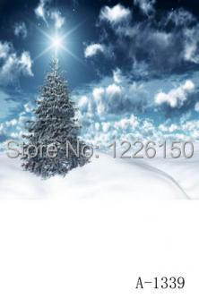 Free digital christmas Snow scenic photo backdrops children christmas photography A-1339,7x10ft photography background christmas<br>