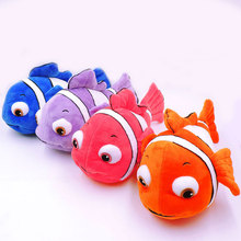 "30CM Cute Nemo Clownfish Plush Toy Fully Stuffed Fish Dolls Anime Cartoon Finding Nemo Soft Kids Baby Toys 4 Colors 11.8""(China)"