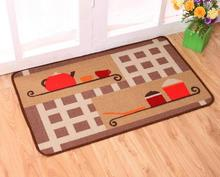 Manufacturers selling printed bibulous non-slip mat The kitchen hallway foot pad Household galley kitchen mat wholesale carpet