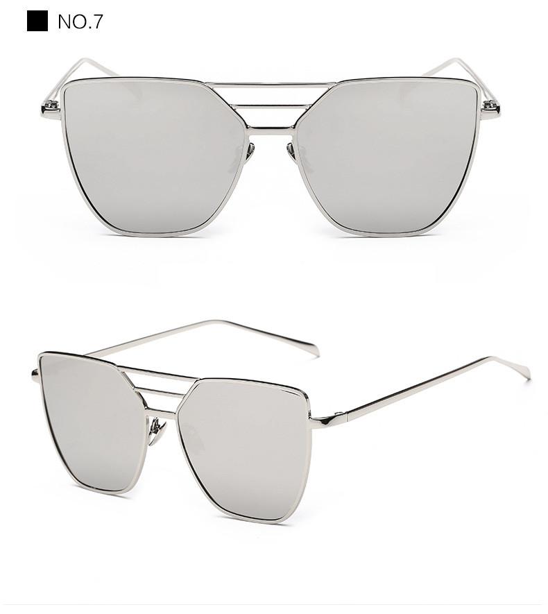 High Quality Cat Eye Sunglasses Women Brand Designer Driving Summer Sun Glasses Women Female Lady Sunglass Mirror Vintage Retro (15)