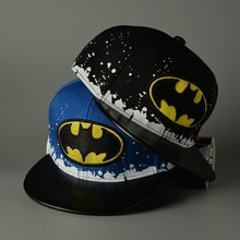 2017 Lovely batman Embroidery cotton kids Baseball Caps Chapeu Gorras  Casquette hat children Boys Girls Hip Hop hats