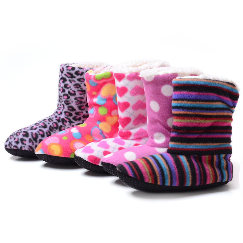 New 2016 Winter Warm Indoor Home Slippers Womens  Slippers Christmas Deer Slippers Women Shoes Cotton bedroom slippers<br><br>Aliexpress