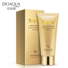 BIOAQUA Snail Prime Extract Repair Brighten Facial Cleaner Lotion Deep Face Pore Clean Hydrating Oil Control Winter Skin Care(China)