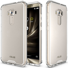 Zenfone 3 ZE552KL Case Transparent Back Cover Full Protective Air Cushion Hybrid Protection Case For Asus Zenfone 3 Case 5.5""