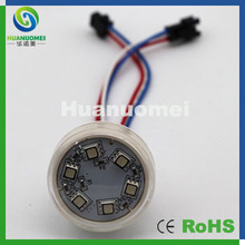 Quality SMD5050 rgb led pixel module waterproof amusement led for funfair lighting(China)