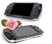 HOT SELL 20pcs 4GB 4.3 Inch PMP Handheld Game Player MP3 MP4 MP5 Player Video FM Camera Portable Game Console