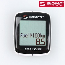 SIGMA BC 12.12 Waterproof Bicycle Speedometer Road Bike Computer Mountain Bike Wire Odometer Cycling Odograph
