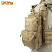 EXCELLENT ELITE SPANKER Nylon Outdoor Training Hydration Bag Military Molle Tactical Vest Camping Hunting Accessories Bags(China)