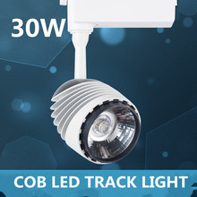 The new COB engineering led track lights clothing spot lights highlight 30W foot tile factory outlets AC90-260V
