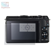 Self-adhesive Glass LCD Screen Protector Cover For Canon EOS M3 M10 EOSM Mark III