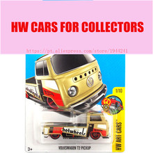 2017 Hot Wheels 1:64 Volkswagen T2 Pickup Metal Diecast Cars Collection Kids Toys Vehicle For Children Juguetes(China)