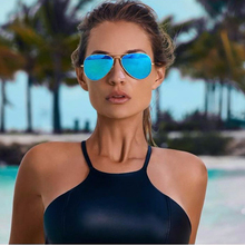 Women Pilot Sunglasses Aviator Metal Frame Women Sunglasses 2017 Brand Designer Black Uv Ladies Sunglasses Sonnenbrille Frauen