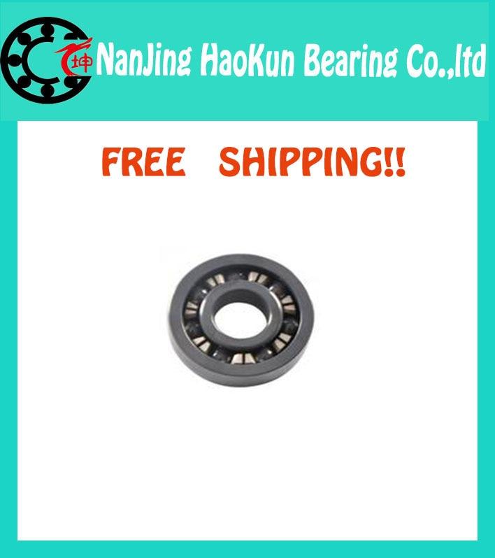 Free shipping 6902 full SI3N4 ceramic deep groove ball bearing 15x28x7mm 61902<br><br>Aliexpress