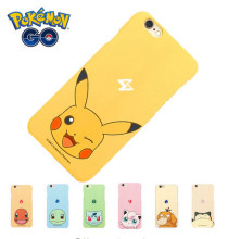 For Apple iphone5 5S 6S 6 Plus Case pokemons Pocket Wizard Cartoon Pikachus Case Jigglypuff Squirtle Hard Cell phone Cases Cover(China)