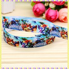 5/8 inch Free shipping Elastic FOE cartoon game printed headband headwear diy hair band wholesale OEM H4284(China)