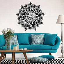 DC 20   Hot Selling Drop Shipping   Mandala Flower Indian Bedroom Wall Decal Art Stickers Mural Home Vinyl Family 421