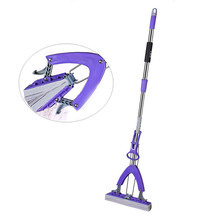 Sponge Mop Glue Cotton Mop Twist The Water Mop Microfibre Nozzle Flat Rotated Spray Self-squeezing Flat Drag Lazy Floor Magic(China)