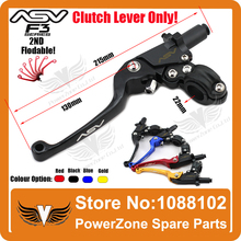 Alloy ASV F3 2nd Long Clutch Folding Lever Only Racing Motorcycle Pit Dirt Bike IRBIS KAYO PIT PRO GPX  Modify Free Shipping