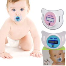 2015  electronic kids nipple baby care newborn digital pacifier thermometer children's diagnostic-tool home silicone