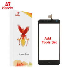 hacrin Ulefone Tiger Touch Screen + Tools Set Gift Digitizer Glass Panel Assembly Replacement For Ulefone Tiger 5.5inch(China)