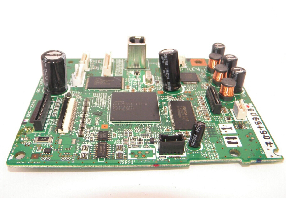 printer mainboard FOR CANON IX5000 QY6-0042 QY6-0064 QM2-3393 QK1-2035-03, ink cartridge model:PGI-5BK and CLI-8C / M / Y<br>