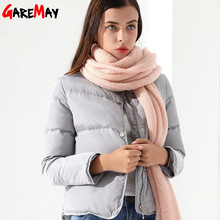 Women's Down Coat Female Jacket Short White Winter Coat Chaqueta Mujer Warm Outwear Clothing For Women Jacket Down Parka Garemay(China)